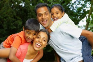 Happy-Indian-Family